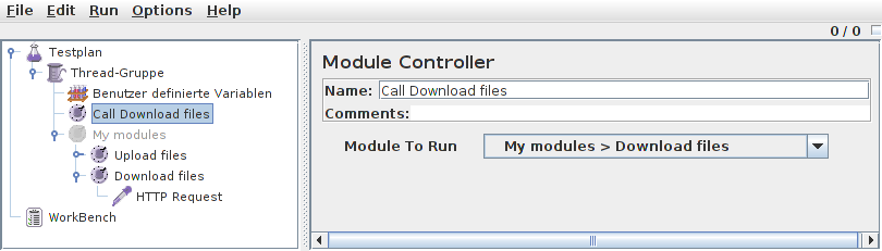 Call Module Screenshot